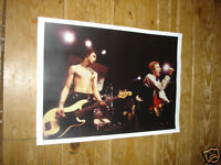Sex Pistols Johnny Rotten Sid Vicious On stage POSTER