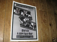 The Beatles A Hard Days Night Repro Avert POSTER