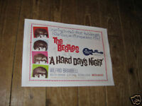 The Beatles A Hard Days Night Repro Film POSTER
