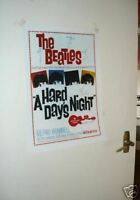 The Beatles Repro Tour Poster A Hard Days Night