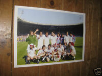 West Ham United 1980 FA Cup Winners POSTER Team Group