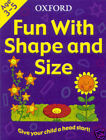 OXFORD FUN WITH SHAPE & SIZE EARLY LEARNING CHILDS BOOK