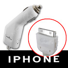LOT 5 CAR POWER CHARGER CORD 4 iPHONE/3G/S/4/iPOD/TOUCH