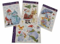 Christmas Window Sticker, 4 Designs Available- PM84