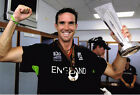 "Kevin Pietersen ""KP"" SIGNED Cricket 12x8 Photo AFTAL"