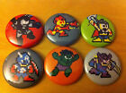 AVENGERS 8-bit buttons set of 6 1