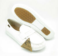 Ball Band W023 WHITE COMFORT ANTI SLIP Womens NURSE SHOES Light Weight Loafers