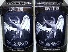 2x LED ZEPPELIN SWAN SONG LOGO STUBBY CAN COOLER HOLDER
