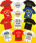 Lustige Witzige Coole Sprüche Fun T-Shirt Mama Papa Oma Opa Familie Bruder