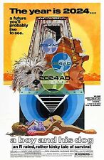 A BOY AND HIS DOG Movie Poster Exploitation Sci-Fi Grindhouse Sex