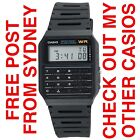 CASIO CA53W CALCULATOR WATCH VINTAGE DATABANK DIGITAL RETRO 80s CA53W-1 Mens
