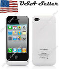 Slim 1500 mAh Apple iPhone 4 / 4s Battery Case Cover - High Quality 4g 4gs