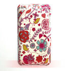 Vine Flower & Bird Hard Plastic Back Case Cover for iPod Touch 4 4th generation