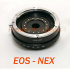 Canon EOS Lens to SONY NEX5 NEX-3 NEX-C3 NEX-5N NEX7 adapter Build-in Aperture