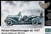 MB 35101 1:35 Polizei-Kübelsitzwagen ab 1937 (German military car, WW II era)