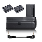 Battery Grip Rebel T3/1100D + 2x LP-E10 + IR Remote for Canon EOS Camera