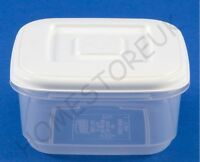 WHITEFURZE SQUARE PLASTIC FOOD TUB STORER STORAGE CONTAINER CAKE LUNCH BOX