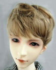 """WG56D23 5-6"""" Brown short wig for for Lati Yellow BJD Super Dollfie Doll"""