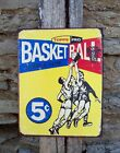 Vintage Antique Style Ad Topps Basketball Sign Retro Basement Home Decor Gift