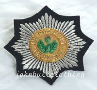 Cheshire Regiment Wire Embroidered Bullion Blazer Badge - British Army /Military