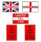 Manchester United Football Fridge Magnet chose from 5 designs FREE POSTAGE