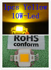 1pcs 10w High Power Yellow Led Light Bulb for home/cafe/art workshop 400LM mh