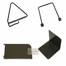 Brown Twin Slot Accessories for Shelving Systems Universal Book Shelf End