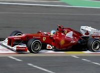Fernando Alonso Ferrari F1 Legend 10x8 Photo