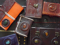 Handmade Embossed Leather Stone Paper Journal Diary Notebook Sketchbook A3 A4 A5