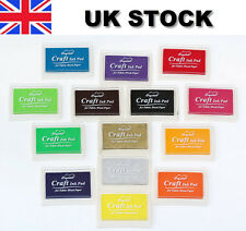Craft Ink Pad Inkpad for Paper Wood Fabric 15 Colors Available for Rubber Stamps