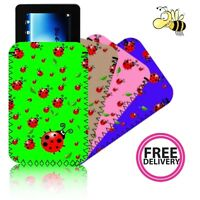 'LADYBIRD' Neoprene Case / Pouch for ASUS GOOGLE NEXUS 7 inch Tablet PC - UK