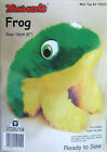 'Frog' Ready-to-Sew Mini Soft Toy Kit by Minicraft