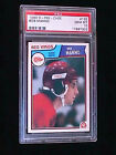 1983 OPC O-PEE-CHEE #132 BOB MANNO PSA 10 GEM MINT POP 12 DETROIT RED WINGS NHL