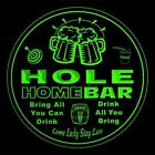 4x ccq20584-g HOLE Home Bar Ale Beer Mug 3D Etched Drink Coasters