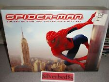 Spider-Man DVD 2002 3-Disc Box Set Limited Edition Collector's Giftset Rare OOP