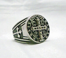 St Benedict Exorcism Ring Demon Protection Ghost Hunter