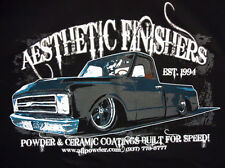 Aesthetic Finishers 1968 Chevy Chevrolet C-10 Pick-up Hot Rod T-Shirt