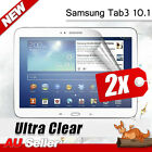 New Clear Screen Protector For Samsung Galaxy Tab 3 10.1 P5200 P5210 P5220 2x