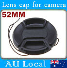 Clip on Cap for 52mm filter thread Lens Canon Nikon Pentax Olympus Sony Tamron