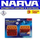 NARVA 93430BL2 LED TRAILER LIGHTS COMBO PAIR BOAT TAIL LIGHT LAMP LAMPS 12V