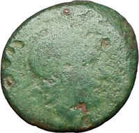 Lysimachos King 323BC Rare  Greek Coin Head of Alexander the Great Lion  i27626