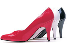 Red Wide Width Foot Pumps Crossdresser Shoes Drag Queen Heels size 12 13 14 W
