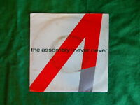 """The Assembly - Never Never 7"""" 1983 Ex/G MUTE 7TINY1"""