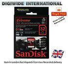 Sandisk 32GB Extreme SD SDHC Memory Card 45MB/s Class10 in UK NEXTDAY RECORDED D