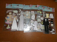 Jolees Boutique  Large size pack  wedding themed  stickers
