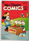 Walt Disney's Comics and Stories # 97 golden age Dell comic 1948 Carl Barks