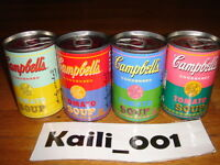 Limited Edition Andy Warhol Campbell Soup Cans 50th Anniversary Art Set of 4 C