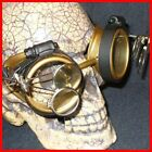Steampunk Goggles Glasses cyber lens GC goth punk RAVE novelty biker motorcycle