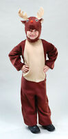KIDS, CHILDRENS, TODDLER REINDEER CHRISTMAS FANCY DRESS COSTUME OUTFIT