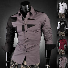 Camicia Uomo maniche Lunghe SLim-Fit Men 8397 Multisize Spring/Summer 2015